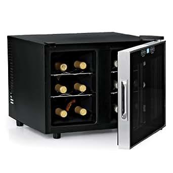 Wine Enthusiast Silent 12 Bottle 2-Temp Touchscreen Wine Refrigerator