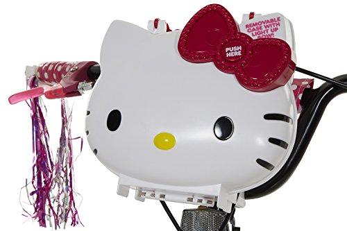 Hello Kitty Girls Bike, White/Black/Pink, 18''/One Size by Hello Kitty (Image #2)