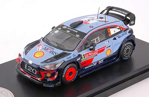 HYUNDAY i20 WRC N.5 WINNER PORTUGAL 2018 T.NEUVILLE-N.GILSOUL 1 43 - Trofeu - Auto Rally - Die Cast - Modellino