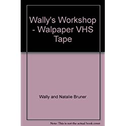 Wally's Workshop - Walpaper VHS Tape