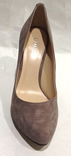 Guess Mujer Zapato de salón tacones altos, FL3SNESUE08, Gris, 40