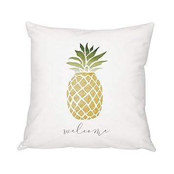 Amazon.com: Cathy Concepts de la piña Throw Pillow ...