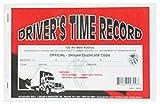 J.J. Keller Trucker Daily Log Book Deluxe Duplicate, pack of 100