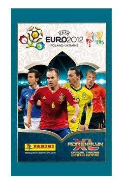Uefa Euro 2012 Adrenalyn XL Trading Cards 10 Packs PANINI
