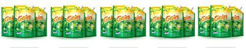 Gain Smart Pouch Liquid Laundry Detergent, Original, 48 Fluid Ounce (Pack of 3) (5-(Pack of 3)) by Gain