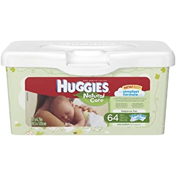 Huggies Natural Care Baby Wipes, 512 Total Wipes 64 Count (Pack of 8)