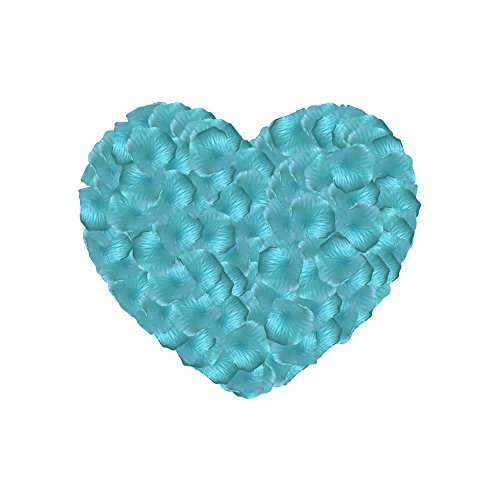 Mint Green Rose - Neo LOONS 1000 Pcs Artificial Silk Rose Petals Decoration Wedding Party Color Mint Green