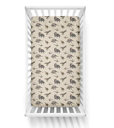 Posh Peanut Fitted Crib Sheet, Soft Viscose from Bamboo Fabric, Standard Crib and Toddler Mattresses 52