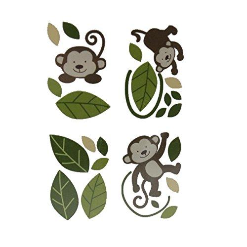 Babies R Us Monkey Door Wall Decals