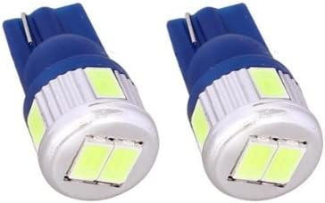 T10C6B - Azul de Canbus SMD LED lámpara bombilla de repuesto luces ...