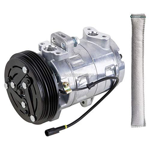 (AC Compressor w/A/C Drier For Suzuki Vitara 1999 2000 2001 2002 - BuyAutoParts 60-86040R2 NEW)
