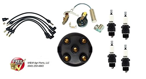 IGNITION TUNE UP KIT IH INTERNATIONAL HARVESTER FARMALL CUB & CUB LOBOY TRACTOR (Ignition Part Type Distributor)