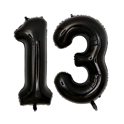 Amazon 40inch Jumbo Black 16 Number Balloons For 16th Birthday Party Decorations Girl Boy Years Old Supplies Use Them As Props