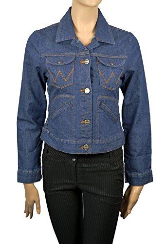 41kcjwqQcNL - Wrangler Damen Jeansjacke W42714466 Western Jacket Gr.M