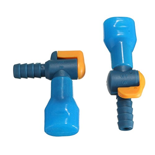 Sports & Outdoor - 90 Degree Straight Silicone Bite Valve Hydration Pack Nozzle Bladder - 1PCs