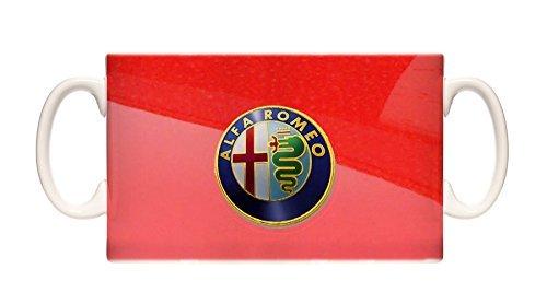 Mug Alfa Romeo Red Bonnet Ceramic