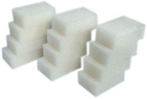 LTWHOME Foam Filter Pads Fit for Aqua Clear 70/300 AquaClear 70-Gallon 30 PPI(Pack of 12) ()