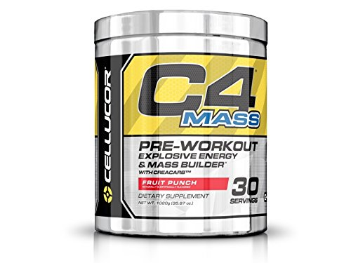 Cellucor, C4 Mass, Pre-Workout Supplement