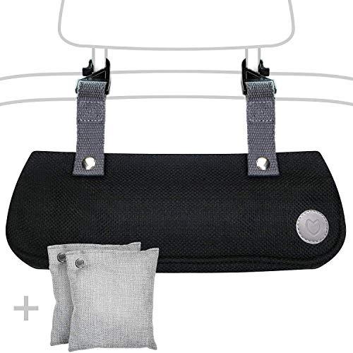 PURORRA Car Odor Neutralizer - Natural Car Odor Eliminator- 3 Piece Smoke Smell Car Air Freshener