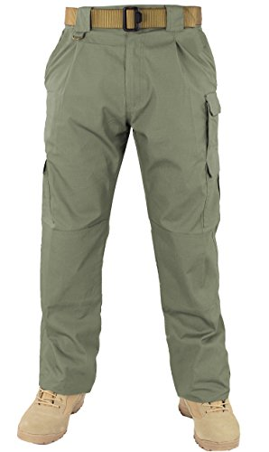 First Class Tactical Training Men's Trousers (32W/32L, OD Green) by First Class