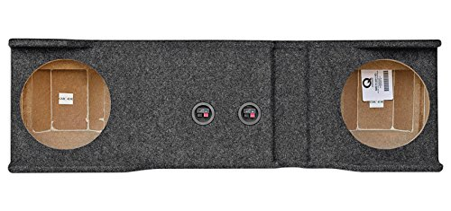 Dual 10″ Subwoofer Box for 2001-2006 Chevy/GMC Heavy Duty 1500/2500/3500HD