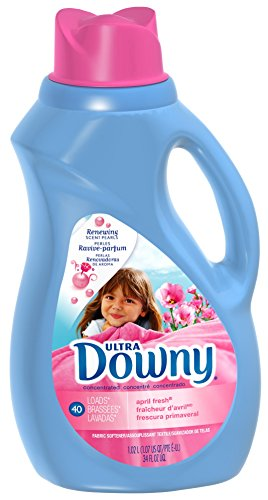 Downy April Fresh Downy Ultra Liquid Fabric Softener, 34 fl oz