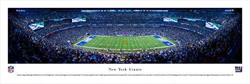 New York Giants - 50 Yard - Blakeway Panoramas Unframed NFL - Championship 2007 Game Nfc