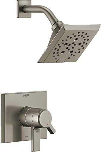 (Delta Faucet T17299-SS Pivotal Monitor 17 Series Shower Trim, Stainless)