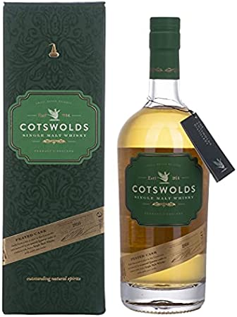 Cotswolds Cotswolds PEATED CASK Single Malt Whisky 60,2% Vol. 0,7l in Giftbox - 700 ml