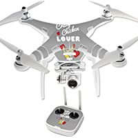 Skin For DJI Phantom 3 Professional – Crazy Chicken Lover | MightySkins Protective, Durable, and Unique Vinyl Decal wrap cover | Easy To Apply, Remove, and Change Styles | Made in the USA