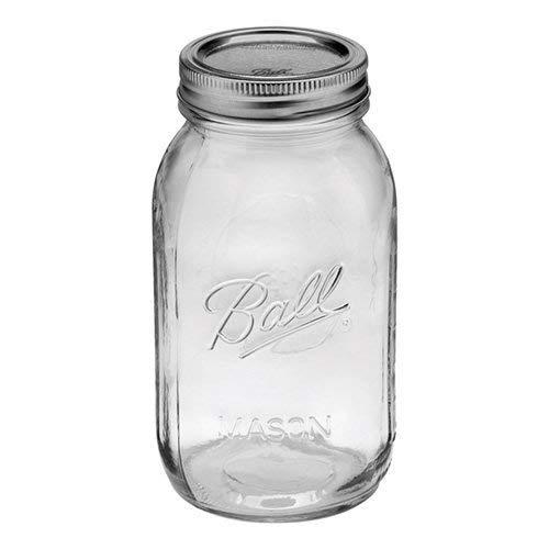 Ball 1 Quart (32 oz) Mason Jars (Canning Jars) Case 12 by Berlin Packaging