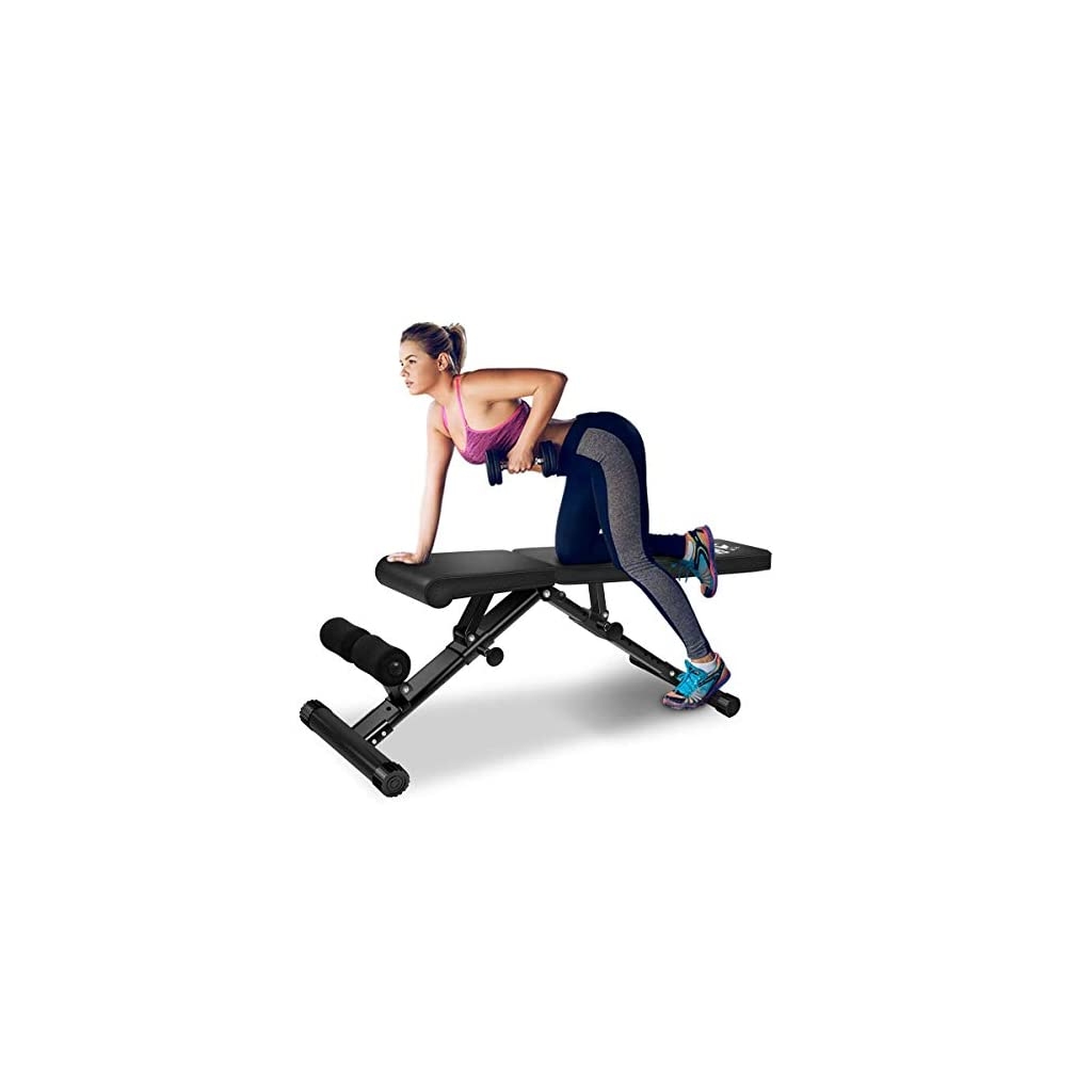 FLYBIRD-Adjustable-Weight-Bench-Utility-Gym-Bench-for-Full-Body-Workout-Multi-Purpose-Foldable-Incline-Decline-Benchs-2019-Version