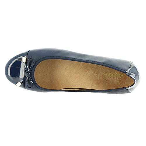 Shoes Marine Womens Bleu Vionic 359 Leather Minna TqIz4z0xw