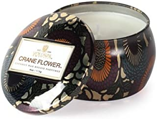 product image for Voluspa Crane Flower Decorative Mini Tin Candle, 4 Ounce