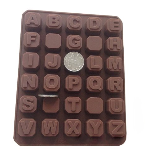 26-Letters-Silicone-Baking-Cake-Mold-Candle-Mold-Bakeware