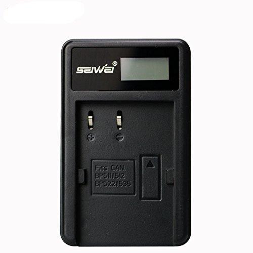 BP511 BP512 BP522 BP535 LCD Single Charger Battery Charger for Canon G6 G5 G3 G2 G1 EOS 300D 50D 40D 30D 20D 5D MV300i Digital Camera 1 Order