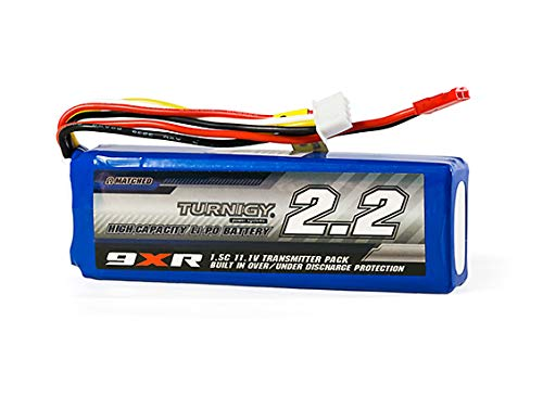 Turnigy 9xr Safety Protected 2200mah 3s 1.5c Battery