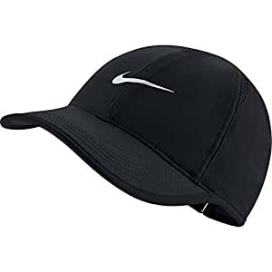 6c9567b9e13 Amazon.com  NIKE Women s AeroBill Featherlight Tennis Cap