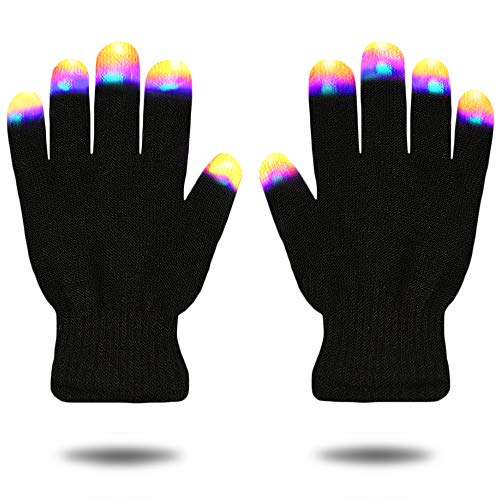 Creative Toys for Girls Boys, TOP Toy Flashing LED Gloves Gifts for Teen Girls Boys Toys for 3-12 Year Old TTUSTTG03 ()