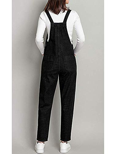 dcc2c191667a Gooket Women s Regular Fit Denim Dungarees Casual Long Denim Bib Overalls  Jumpsuit Playsuit Jeans Pant Trousers