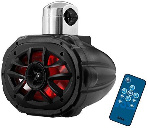 BOSS Audio MRWT69RGB 600 Watt, 6 x 9 inch, Full Range, 2 Way, Weatherproof, Marine Grade Roll Cage / Waketower Speaker System (Sold ()