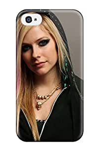 Hot Tpu Cover Case For Iphone/ 4/4s YY-ONE Skin - Celebrity Avril Lavigne