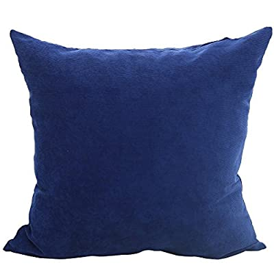 Deconovo Corduroy Tufted Home Decorative Hand Made Pillow Case Cushion Cover With Invisible Zipper