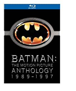 Batman: The Motion Picture Anthology 1989-1997 (Batman / Batman Returns / Batman Forever / Batman & Robin) [Blu-ray] (Bilingual) [Import]