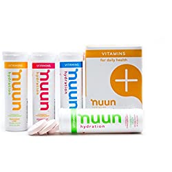 Nuun Hydration: Vitamin Drink Tablets, Mixed Fruit, Box of 4 Tubes