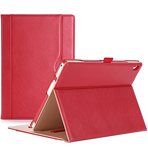 ProCase Lenovo Tab 4 10 Case - Stand Folio Case Protective Cover for Lenovo Tab 4 Tablet 10.1 Inch 2017 Release ZA2J0007US -Red