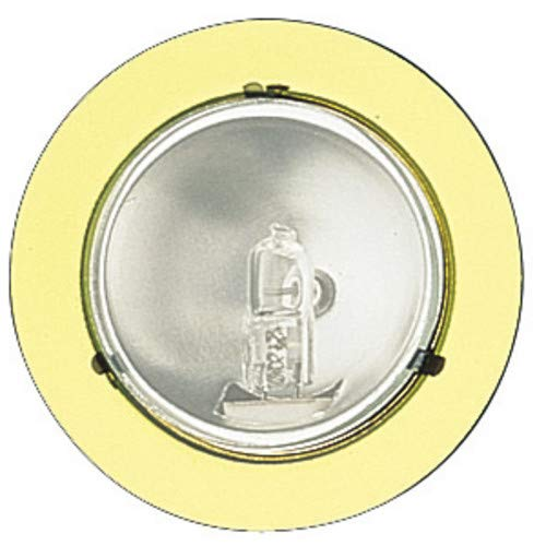 Lens Mini Clear Puck - Elco E228 Mini Downlight with Clear Glass Lens, Gold