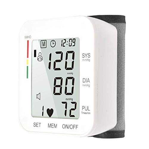 Automatic Wrist Blood Pressure Monitor Voice Broadcast High