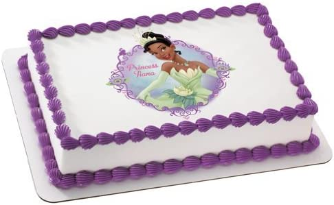 Cool Amazon Com Princess The Frog Princess Tiana Personalized Edible Funny Birthday Cards Online Aeocydamsfinfo