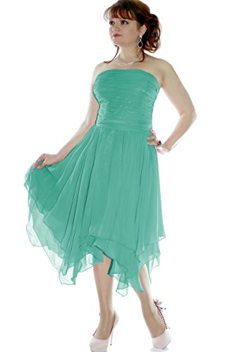 Farbe Christine Cocktail Juju Größe Petrol amp; Damen Abendkleid 34 635111720297 wUOw65Yxq